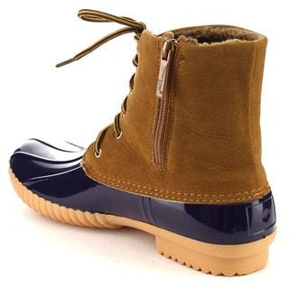Beston Women's Waterproof Duck Boots