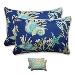 Pillow Perfect Outdoor/ Indoor Daytrip Over-sized Rectangular Throw Pillow (Set of 2)