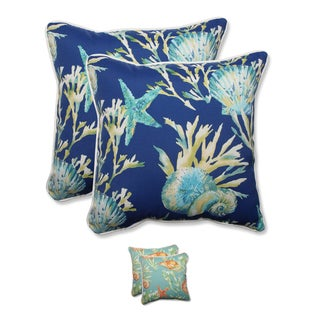 Pillow Perfect Outdoor/ Indoor Daytrip 18.5-inch Throw Pillow (Set of 2)