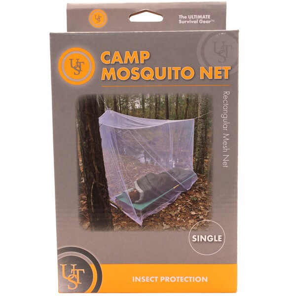 Ultimate Survival Technologies Camp Mosquito Net Single