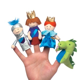 Manhattan Toy A Day at the Castle Finger Puppet Set