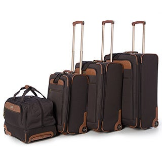 Tommy Bahama Retreat 4-piece Rolling Luggage Set