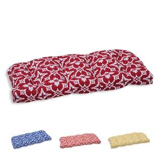 Pillow Perfect Outdoor/ Indoor Aspidoras Wicker Loveseat Cushion
