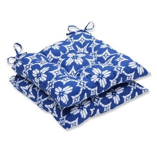 Pillow Perfect Outdoor/ Indoor Aspidoras Wrought Iron Seat Cushion (Set of 2)
