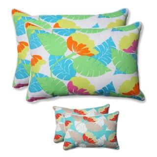 Pillow Perfect Outdoor/ Indoor Avia Over-sized Rectangular Throw Pillow (Set of 2)