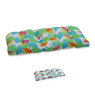 Pillow Perfect Outdoor/ Indoor Avia Wicker Loveseat Cushion