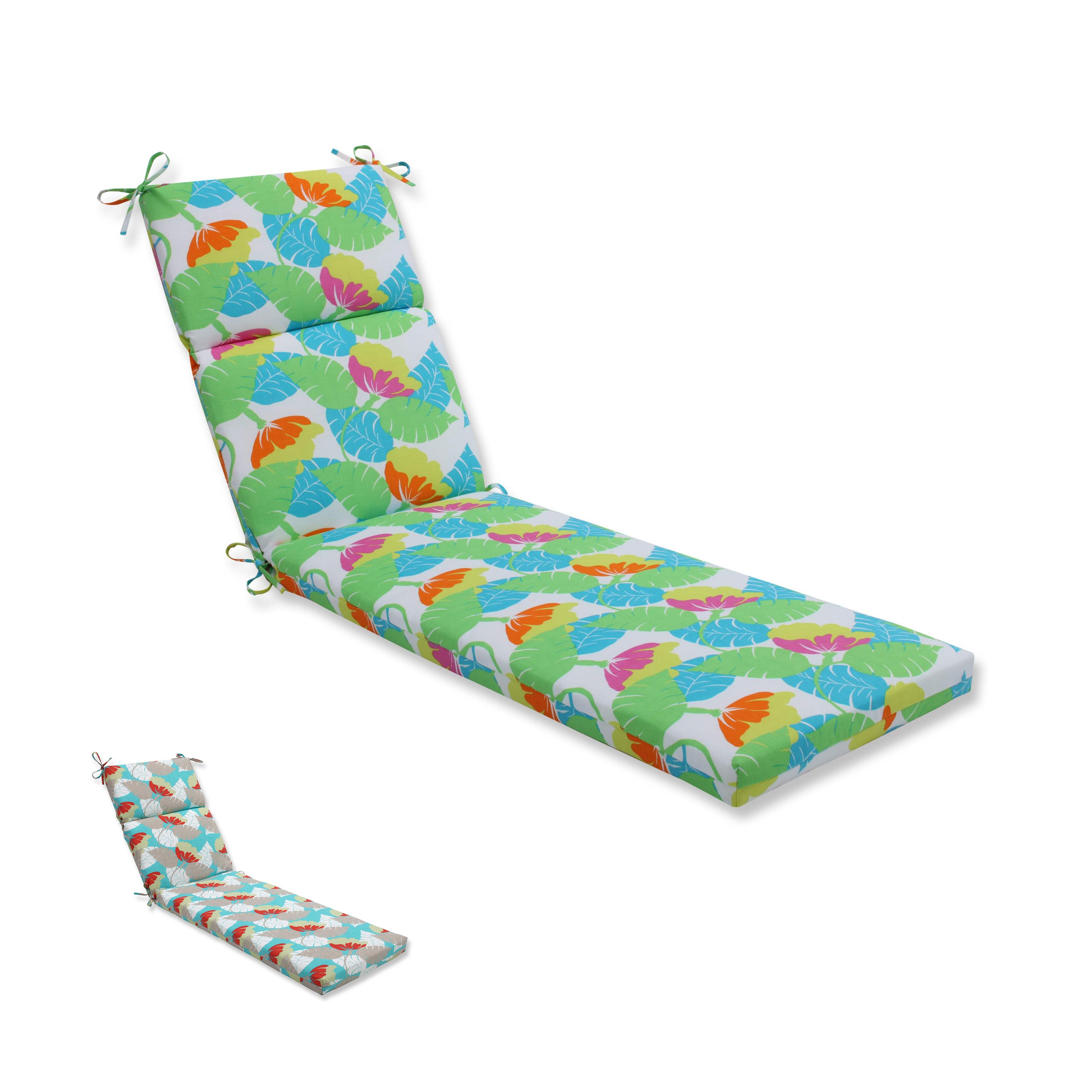 Details About Pillow Perfect Outdoor Indoor Avia Chaise Lounge Cushion