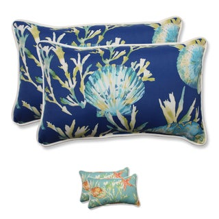 Pillow Perfect Outdoor/Indoor Daytrip Rectangular Throw Pillow (Set of 2)