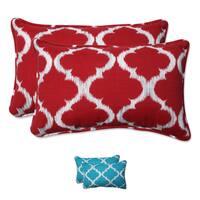Pillow Perfect Outdoor/ Indoor Kobette Rectangular Throw Pillow (Set of 2)