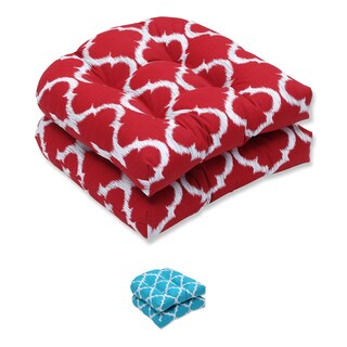 Pillow Perfect Outdoor/ Indoor Kobette Wicker Seat Cushion (Set of 2)
