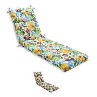 Pillow Perfect Outdoor/ Indoor Lensing Chaise Lounge Cushion