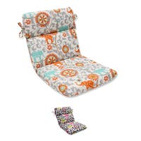 Pillow Perfect Outdoor/ Indoor Menagerie Rounded Corners Chair Cushion