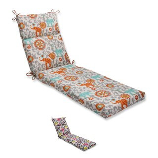 Pillow Perfect Outdoor/ Indoor Menagerie Chaise Lounge Cushion