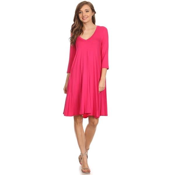 Moa Collection Women's Shirt Dress