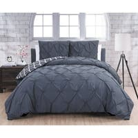 Silver Orchid Niven Madrid Duvet Cover 3-piece Set