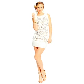 Sara Boo Studded Embellishment Dress