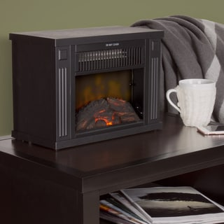 "Windsor Home 13"" Portable Mini Electric Fireplace"