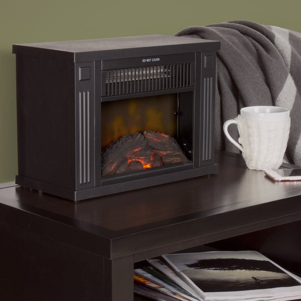 Shop Windsor Home 13 Quot Portable Mini Electric Fireplace