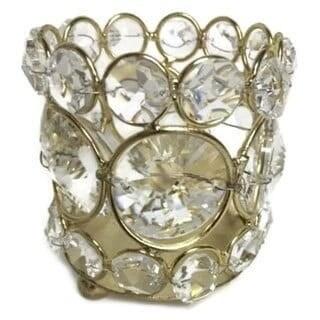 Heim Concept Sparkle Beaded Crystal T-Lite Holder