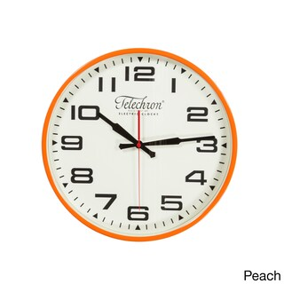 Hans Andersen Home Bedford 13.75-inch Wall Clock (Option: Orange)
