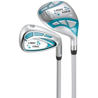 Ladies Right Hand 2015 Lady Edge White Teal Combo Set