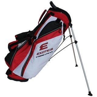 Exotics Xtreme Lite Stand Bag Red White