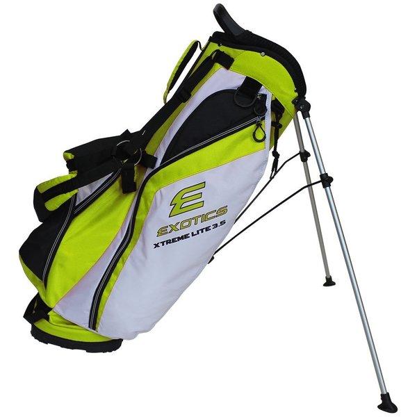Exotic Xtreme Lite Stand Bag Green White
