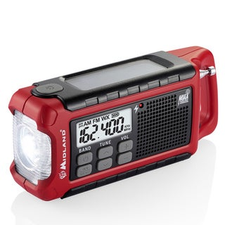 Midland E+READY ER210 Weather & Alert Radio