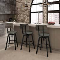 Carbon Loft Kettering Screw Metal and Wood Stool