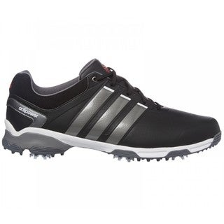 Adidas Men's Adipower TR Core Black/ Iron Metallic/ White Golf Shoes