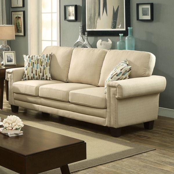 Sites Like Overstock For Furniture: Shop Furniture Of America Evassen Contemporary Linen-like