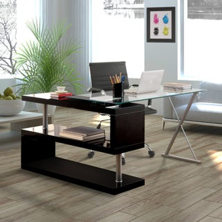 Furniture of America Marisa Contemporary Convertible Executive Desk (3 options available)