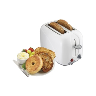 Proctor Silex 22209 White Cool Touch 2-slice Toaster