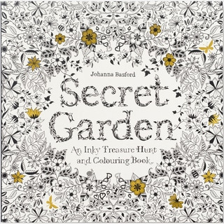 Chronicle Books Secret Garden Coloring Book
