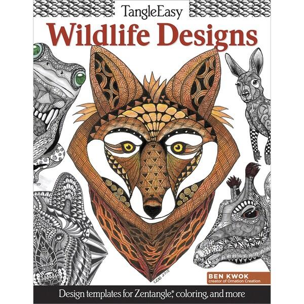Design Originals Wildlife Designs Coloring Book