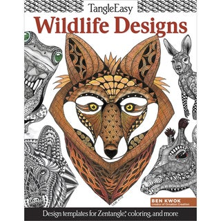 Design Originals Wildlife Designs Coloring Book