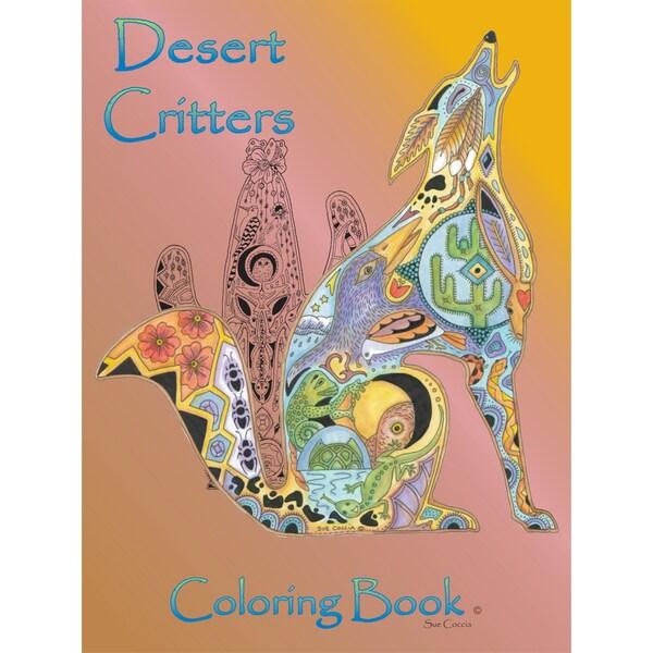 EarthArt Coloring Book Desert Critters