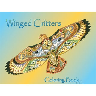 EarthArt Coloring Book Winged Critters