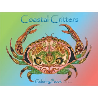 EarthArt Coloring Book Coastal Critters