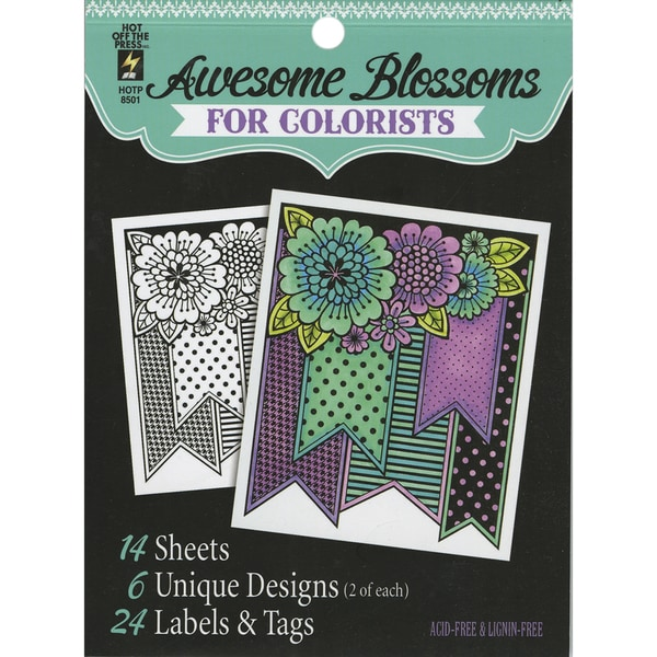 Hot Off The Press Colorist Coloring Book 5inX6in Steampunk