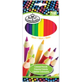 Neon Colored Pencils 12/Pkg