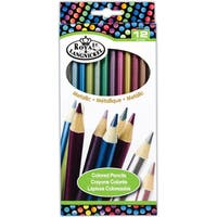 Royal Brush Metallic Colored Pencils (Case of 12)