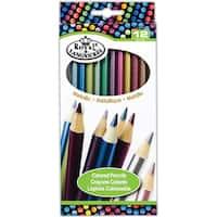Metallic Colored Pencils 12/Pkg