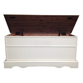 Bernards Oak Cedar Chest with Lid