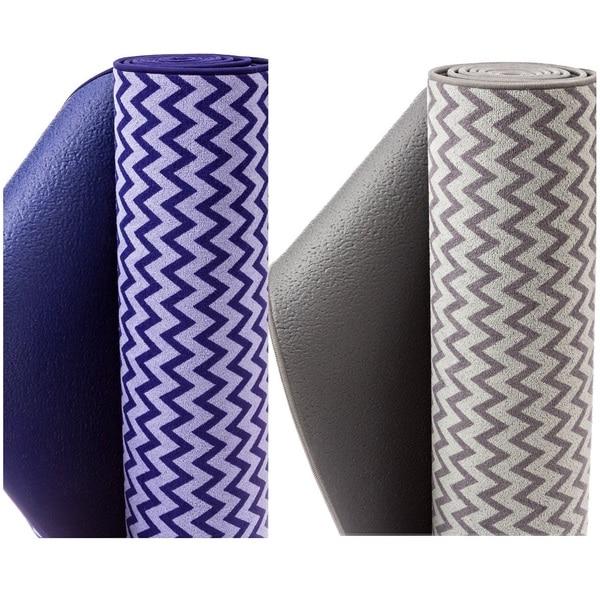 """Bintiva 2-in-1 Towel and Mat Combination Eco-friendly Unique Non Slip """"Fusion"""" Mat"""
