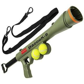 OxGord BazooK-9 Green Tennis Ball Launcher