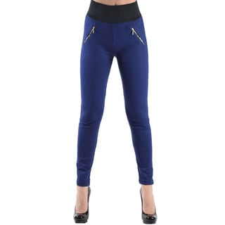 Dinamit Women's High Waisted Elastic Legging Pants