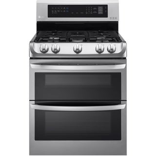 LG 30-inch Freestanding Double Oven Gas Range