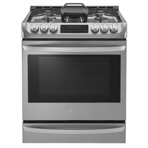 Shop Lg 30 Inch Slide In Gas Range Free Shipping Today