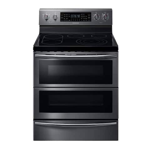 Samsung 5.9 cu. ft. Electric Flex Duo Range with Soft Close and Dual Door